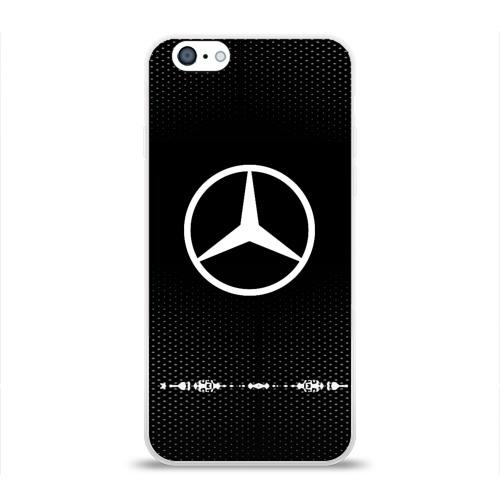 Чехол для Apple iPhone 6 силиконовый глянцевый  Фото 01, Mercedes sport auto abstract