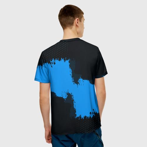 Мужская футболка 3D  Фото 02, RUSSIA blue collection 2018