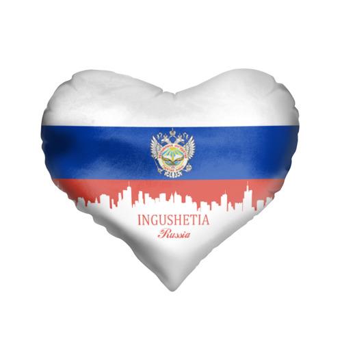 Подушка 3D сердце  Фото 01, INGUSHETIA (Ингушетия)