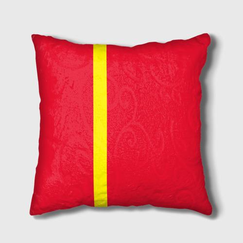 Подушка 3D  Фото 02, Киргизия, лента с гербом