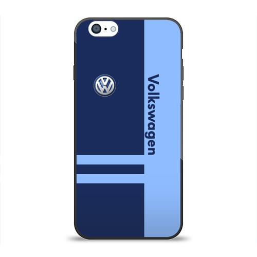 Чехол для Apple iPhone 6 силиконовый глянцевый  Фото 01, Volkswagen