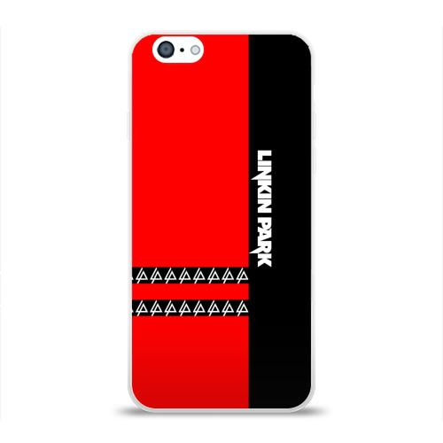 Чехол для Apple iPhone 6 силиконовый глянцевый  Фото 01, Linkin Park