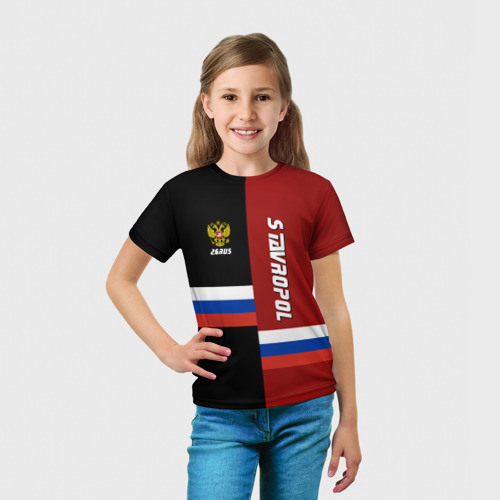 Детская футболка 3D  Фото 03, STAVROPOL (Ставрополье)