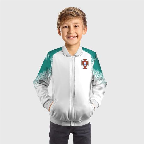 Детский бомбер 3D  Фото 05, Portugal 2018 WC Anthem away