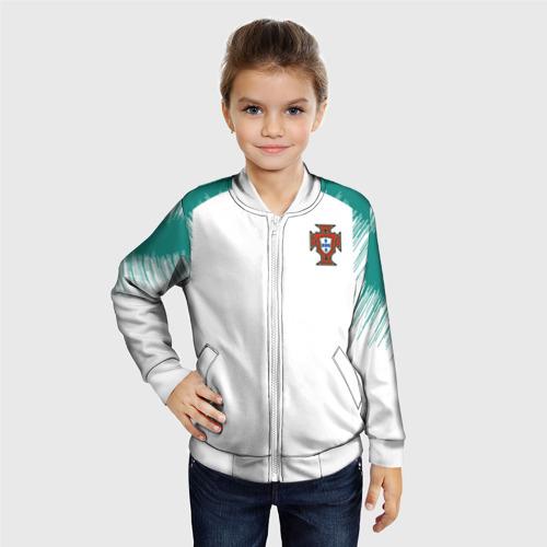Детский бомбер 3D  Фото 06, Portugal 2018 WC Anthem away