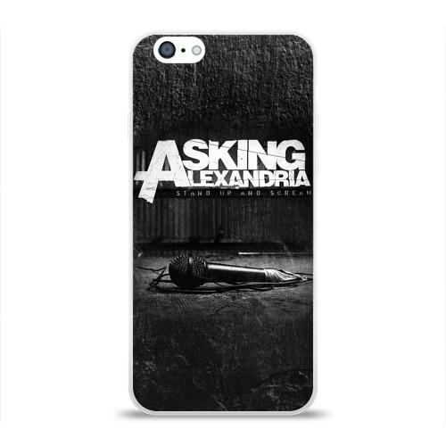 Чехол для Apple iPhone 6 силиконовый глянцевый  Фото 01, Asking Alexandria