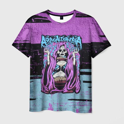 Мужская футболка 3D  Фото 01, Asking Alexandria, пост хардкор, метал,