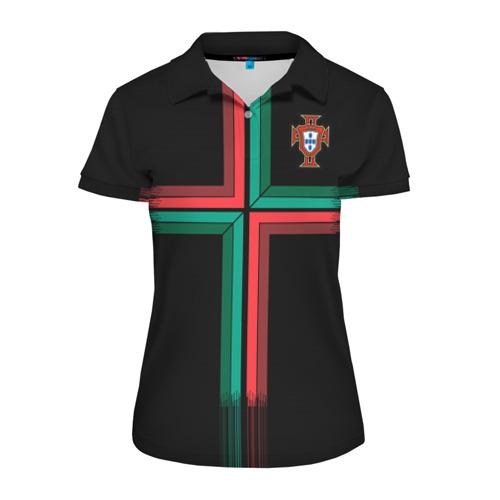 Женская рубашка поло 3D Portugal 2018 WC alternative