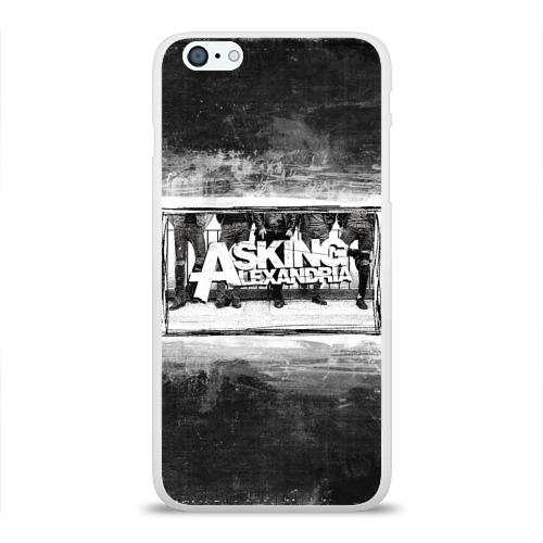 Чехол для Apple iPhone 6Plus/6SPlus силиконовый глянцевый  Фото 01, Asking Alexandria