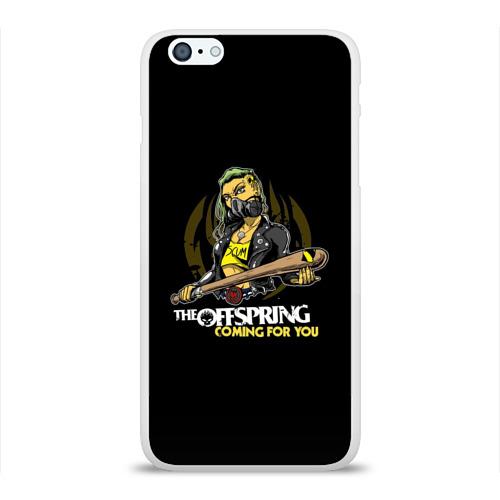 Чехол для Apple iPhone 6Plus/6SPlus силиконовый глянцевый  Фото 01, The Offspring, coming for you