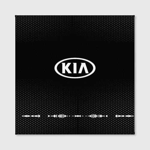 Холст квадратный  Фото 02, KIA sport auto abstract