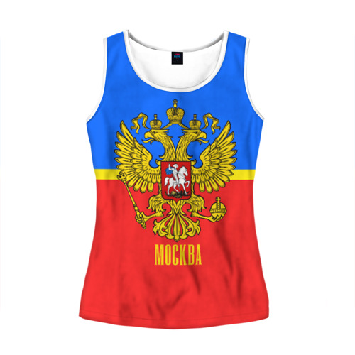 Женская майка 3D Москва
