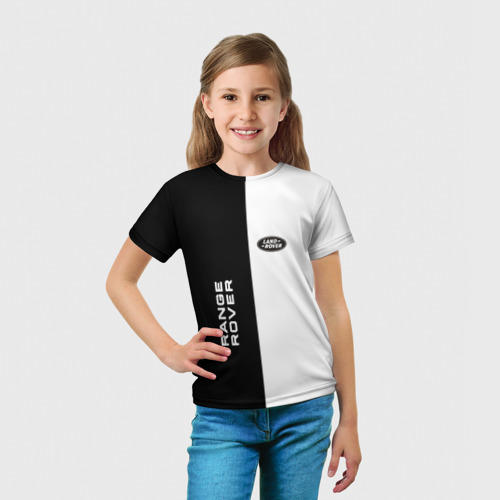 Детская футболка 3D  Фото 03, Land Rover Range Rover