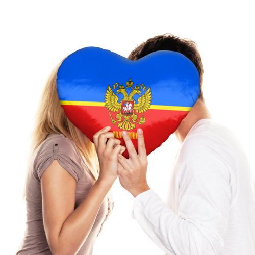 Подушка 3D сердце  Фото 03, Волгодонск
