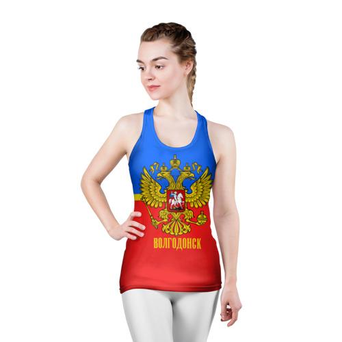 Женская майка 3D спортивная  Фото 03, Волгодонск