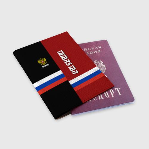 Обложка для паспорта матовая кожа  Фото 03, TATARSTAN (Татарстан)