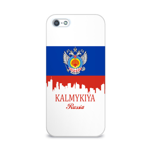 Чехол для Apple iPhone 5/5S 3D  Фото 01, KALMYKIYA (Калмыкия)