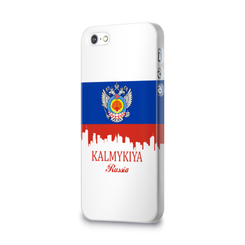 Чехол для Apple iPhone 5/5S 3D  Фото 03, KALMYKIYA (Калмыкия)