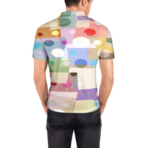 Мужская рубашка поло 3D  Фото 04, geometry