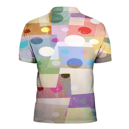 Мужская рубашка поло 3D  Фото 02, geometry