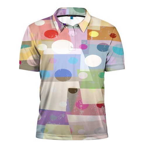 Мужская рубашка поло 3D  Фото 01, geometry