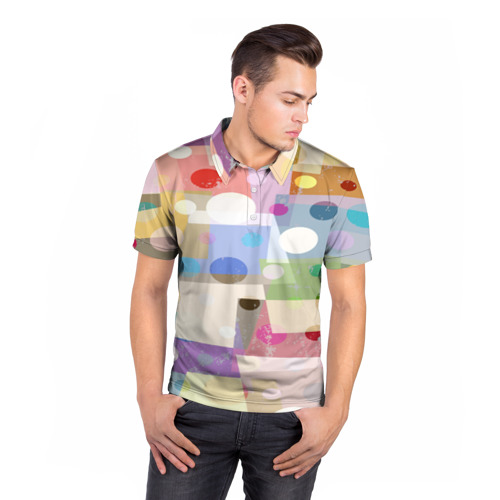 Мужская рубашка поло 3D  Фото 05, geometry