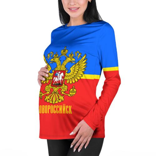 Женский лонгслив 3D для беременных  Фото 01, Новороссийск