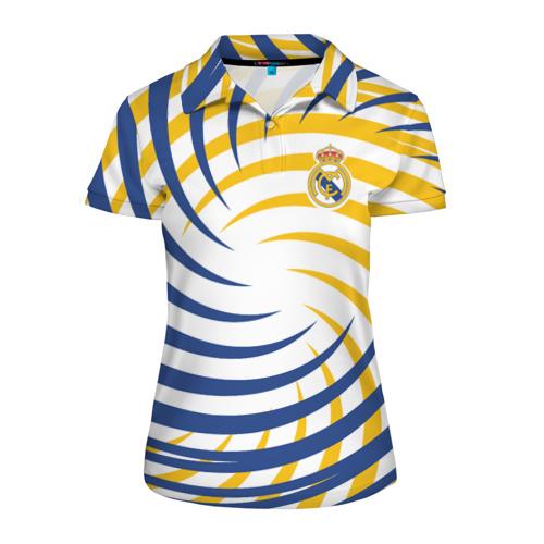 Женская рубашка поло 3D  Фото 01, Real Madrid