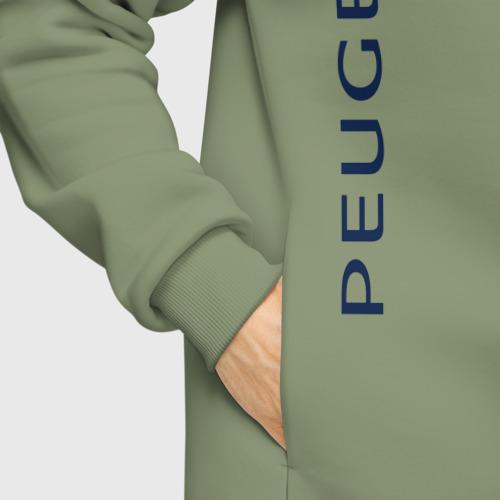 Мужское худи Oversize хлопок Peugeot Фото 01