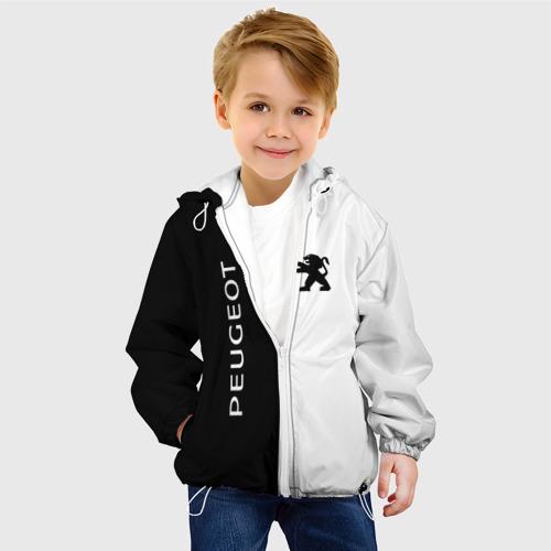 Детская куртка 3D  Фото 03, Peugeot