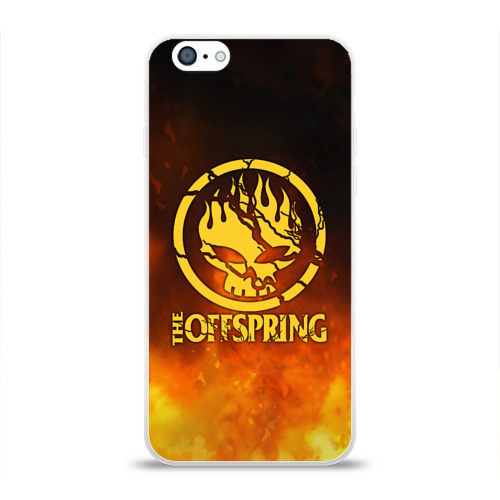 Чехол для Apple iPhone 6 силиконовый глянцевый  Фото 01, The Offspring