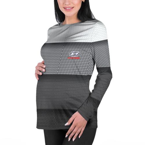 Женский лонгслив 3D для беременных  Фото 01, Hyundai sport
