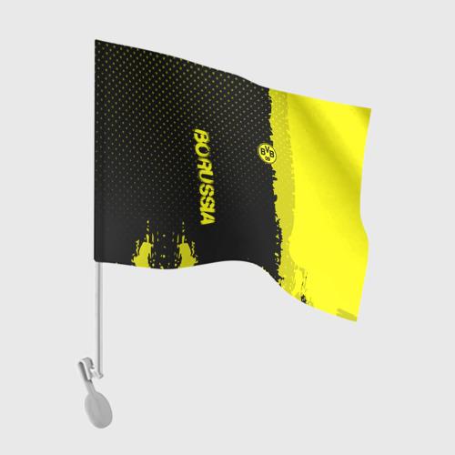 Флаг для автомобиля Borussia sport