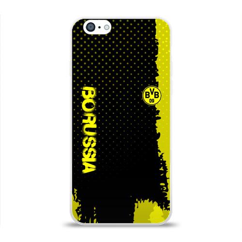 Чехол для Apple iPhone 6 силиконовый глянцевый  Фото 01, Borussia sport