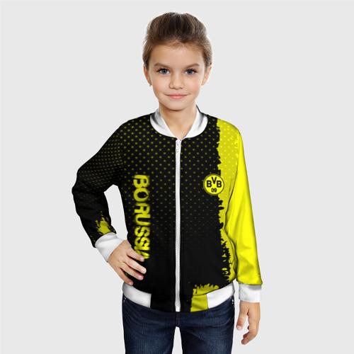 Детский бомбер 3D  Фото 06, Borussia sport