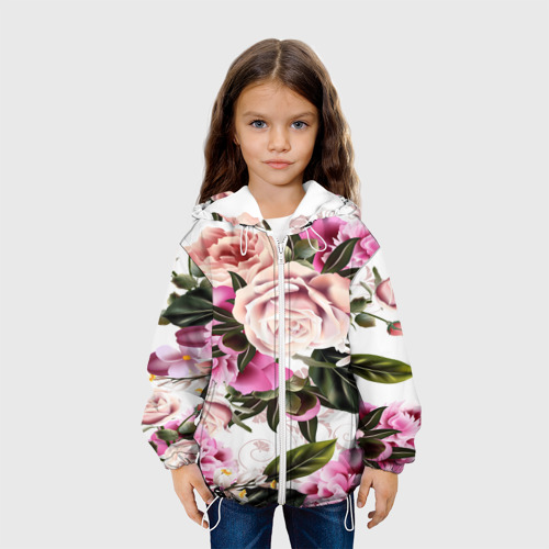 Детская куртка 3D  Фото 04, fashion rose