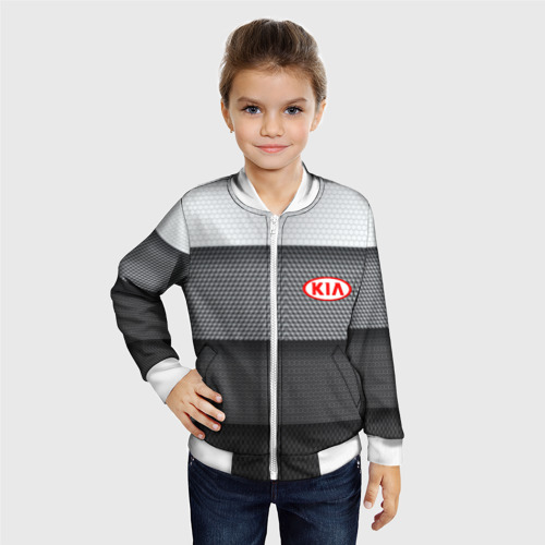 Детский бомбер 3D  Фото 06, Kia sport