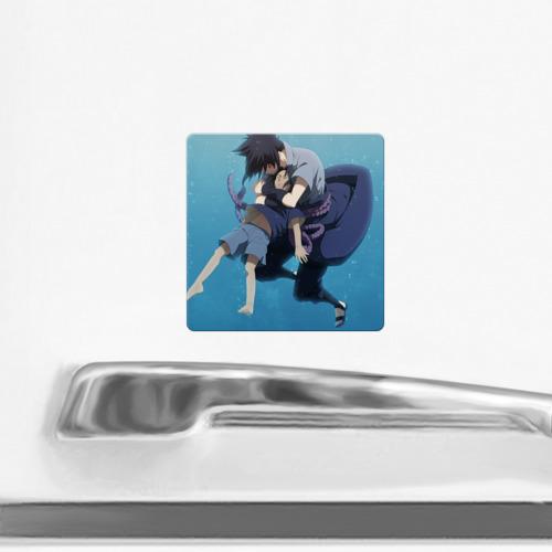 Магнит виниловый Квадрат  Фото 02, Sasuke Uchiha