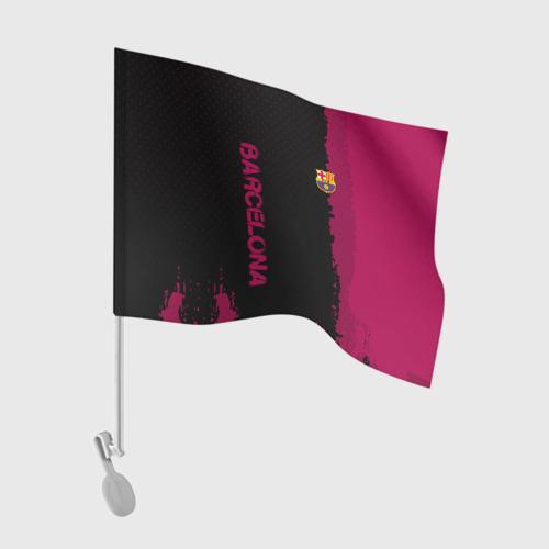 Флаг для автомобиля Barcelona sport