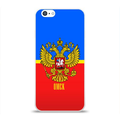 Чехол для Apple iPhone 6 силиконовый глянцевый  Фото 01, Омск