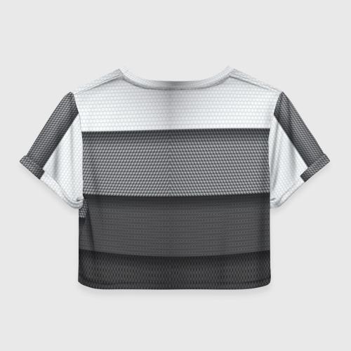 Женская футболка 3D укороченная  Фото 02, Ford sport
