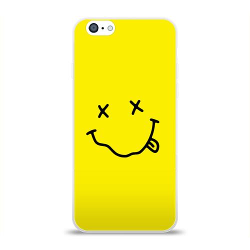 Чехол для Apple iPhone 6 силиконовый глянцевый  Фото 01, Nirvana