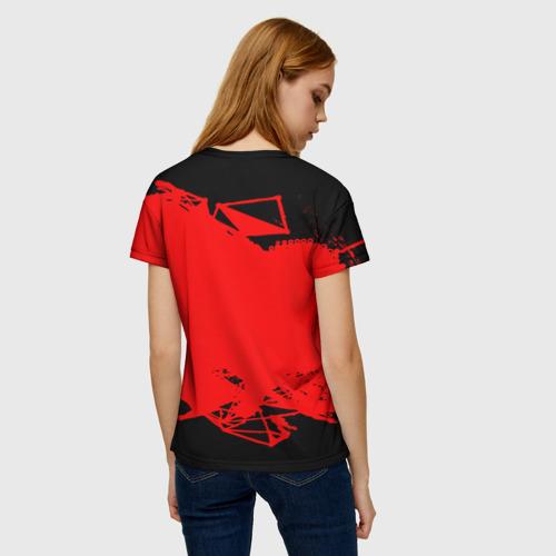 Женская футболка 3D RAINBOW SIX SIEGE OUTBREAK   Фото 01