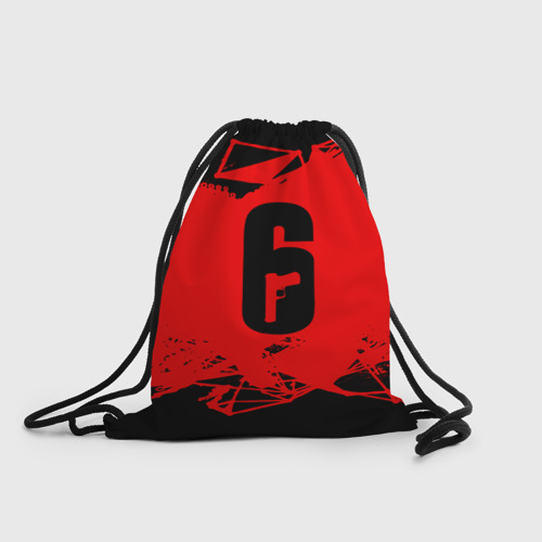 Рюкзак-мешок 3D RAINBOW SIX SIEGE OUTBREAK   Фото 01