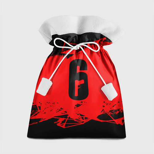 Подарочный 3D мешок RAINBOW SIX SIEGE OUTBREAK   Фото 01