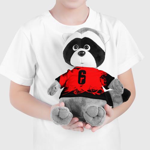 Енотик в футболке 3D RAINBOW SIX SIEGE OUTBREAK   Фото 01