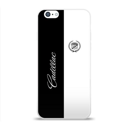 Чехол для Apple iPhone 6 силиконовый глянцевый  Фото 01, Cadillac