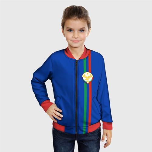 Детский бомбер 3D  Фото 06, Дагестан, лента с гербом