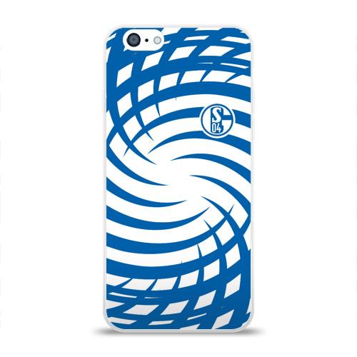 Чехол для Apple iPhone 6 силиконовый глянцевый  Фото 01, FC Schalke 04