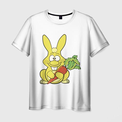 Мужская футболка 3D  Фото 03, Харитон с морковкой